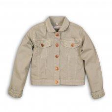 Peachy 1: Slub Twill Cropped Jacket (3-8 Years)