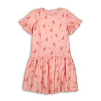 Peachy 11: All Over Print Viscose Dress (3-8 Years)