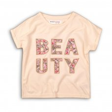 Peachy 9P: Fine Knit Applique Top (8-13 Years)