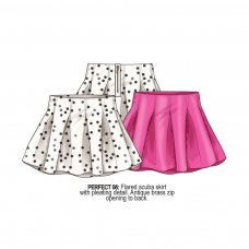 Perfect 6: Flared Scuba Skirt (1-3 Years)