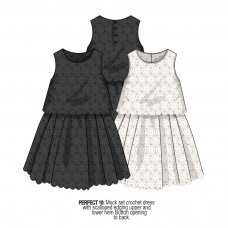 Perfect 10: Crochet Dress (1-3 Years)