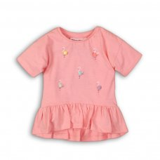 Pool 10: Mix Fabric Top With Pom Pom Detail  (9 Months-3 Years)