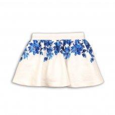Prairie 8: Jacquard Skirt With Flower Print (1-3 Years)