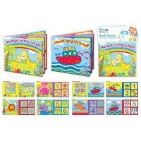 PS150: Soft PVC & Foam Baby Learning Bath Book