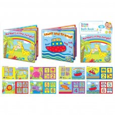 PS150: Soft PVC & Foam Baby Learning Bath Book