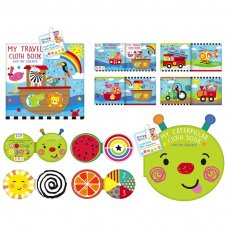 PS554: Soft Cloth Squeaker Baby Book