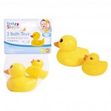 PS753: 2 Pack Vinyl Duck Bath Toy