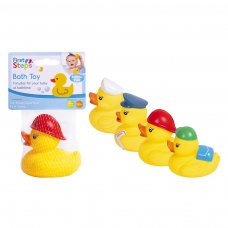 PS754: 4 Pack Character Ducks