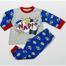 H3825: Baby Boys NAP Pyjama (12-24 Months)