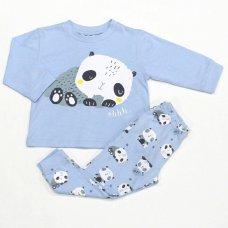 L3160: Baby Boys Panda Pyjama (12-24 Months)