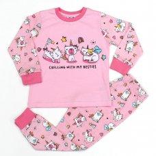 L4169: Girls Cats Pyjama (2-6 Years)