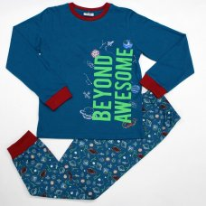 L6173: Older Boys Space Pyjama (7-12 Years)