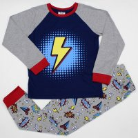 L6174: Older Boys Flash Pyjama (7-12 Years)