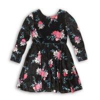 Petal 3P: Aop Velvet Skater Dress (8-13 Years)