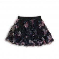 Petal 7: All Over Print Net Layered Skirt (3-8 Years)