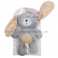 Q17721: Girls 26cm Bunny With Musical Sound (12+ Months)