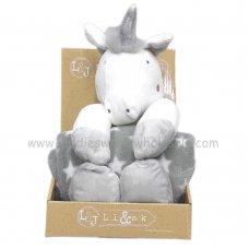 Q17811: Baby Unisex Unicorn Soft Toy & Star Blanket