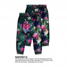 Rainforest 4: Aop Viscose Hareem Pant (1-3 Years)