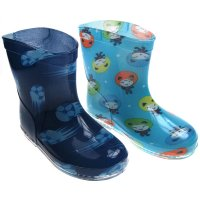 RB21: Boys Football/Aliens Boots (15-24 Months)