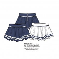 Riviera 7: Heavy Jersey Skirt (1-3 Years)