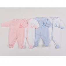 "G1392: Baby ""I Love My Mummy"" Cotton Sleepsuits (0-9 Months)"