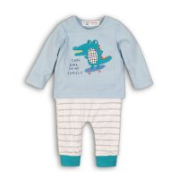 Recess 3: L/S Top & Legging Set (0-12 Months)