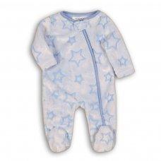 Recess 4: All Over Embossed Fleece Sleepsuit (0-12 Months)