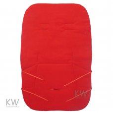 Red Fleece Buggy Liner