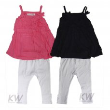 Riviera 5: Slub Jersey Dress & Legging Set (1-3 Years)