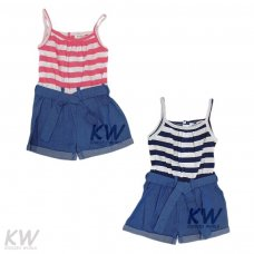 Riviera 6: Striped Playsuit (1-3 Years)