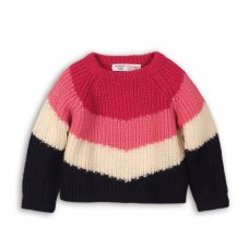 Run 1: Colour Block Knitted Jumper (9 Months-3 Years)