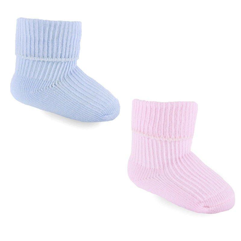 3 24 Months Clock Boys 1 Baby Socks Blue 000 Newborn 6 Pairs