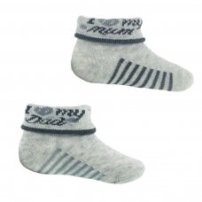 S288: I ♡ Mum/Dad Baby Socks (NB-6 Months)