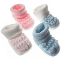 S402: Acrylic Baby Bootees