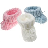 S415: Acrylic Baby Bootees