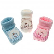 S418: Acrylic Baby Bootees