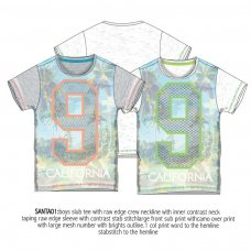 Santa 1: Printed T-Shirt