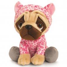 SD2498: 20cm Pugsley Pink Leopard Onesie