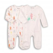 Sea 3: 2 Pack Sleepsuits (0-12 Months)
