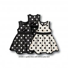 Shades 3: Quilted Dress With Spots (12 Months-3 Years)