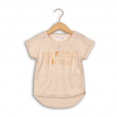 Shimmer 6: Linen Mix Top With Short Sleeve (3-8 Years)