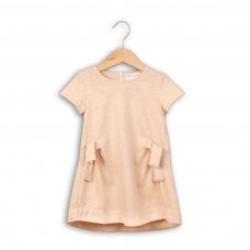 Shimmer 7P: Lurex Marl Lightweight Short Sleeve Fleece Dress (8-13 Years)