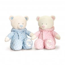 SN0296: 25cm Baby Bear In Romper Suit 2 Asstd