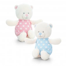 SN0768: 13cm Baby Bear Rattle (2 Colours)