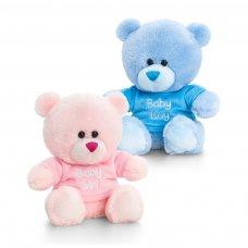 SN0789: 14cm Nursery Pipp the Bear with T-Shirt (2 Colours)