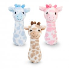 SN2649: 15cm Snuggle Giraffe Rattle (3 Colours)