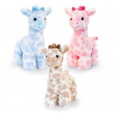 SN2651: 18cm Snuggle Giraffe (3 Colours)