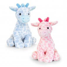SN2652: 26cm Snuggle Giraffe (2 Colours)