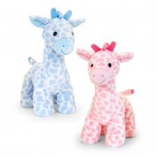 SN2654: 30cm Snuggle Giraffe With Sound (2 Colours)