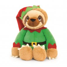 SX1801: 25cm Sloth With Elf Outfit